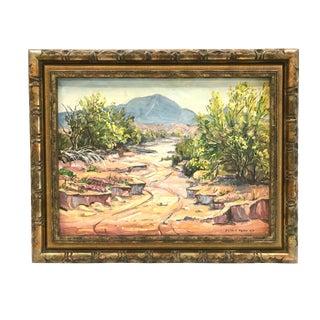 """Pala-Verde Tree In Bloom"" Landscape Painting"