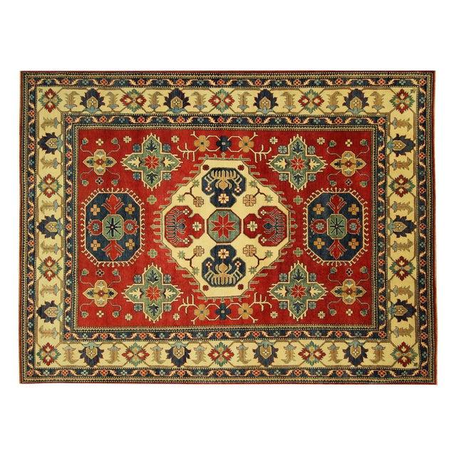 Traditional Super Kazak Rug Red- 8' x 11' - Image 1 of 11