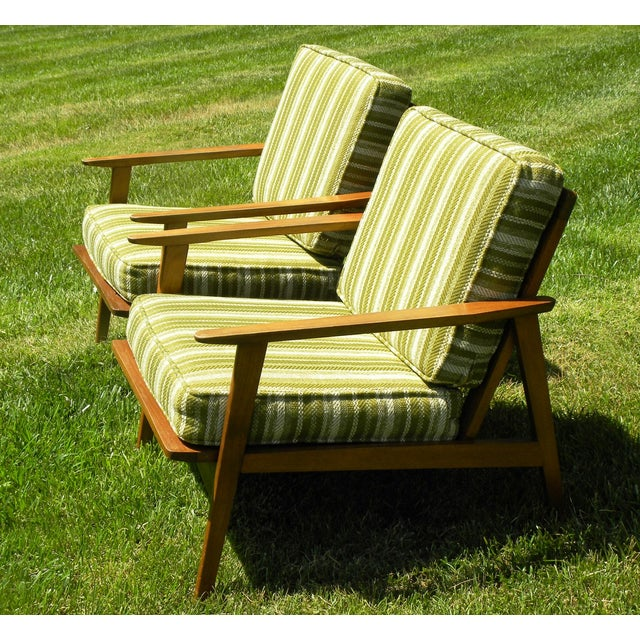 Vintage Mid Century Lounge Chairs - A Pair - Image 4 of 7