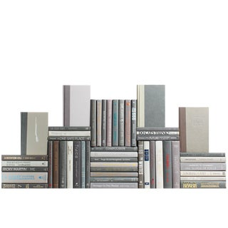 Modern Granite Book Wall, S/50