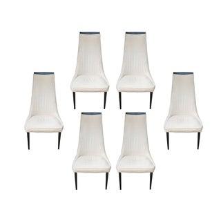 Kipp Stewart Mid Century Dining Chairs - S/6