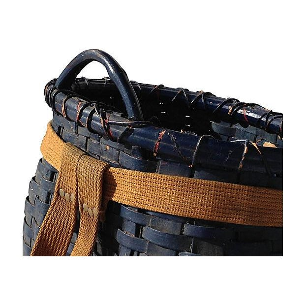 Primitive American Pack Basket - Image 2 of 4