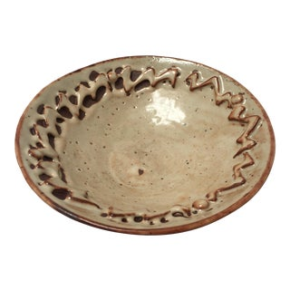 Handthrown Ivory Low Bowl