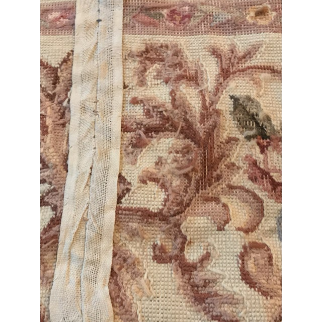 French Aubusson Needlepoint Rug - 8′6″ × 11′6″ - Image 6 of 11