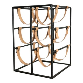 Arthur Umanoff 6-Bottle Wine Rack