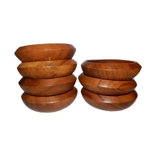 Wooden Serving Ware - Set of 7