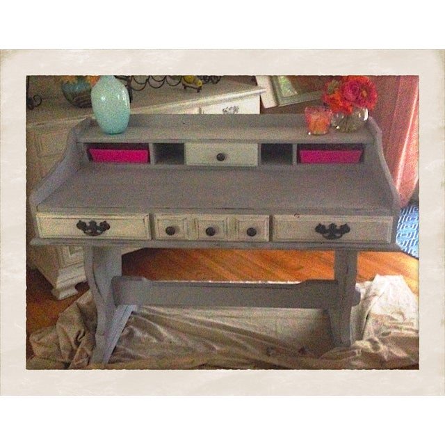 Antique Young Hinkle Desk - Image 7 of 9