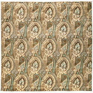 """Suzani Hand Knotted Area Rug - 10'0"""" X 10'2"""""""