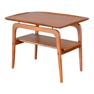 Arne Hovmand-Olsen Floating Teak Side Table