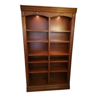 Solid Wood Lighted Display Cabinet