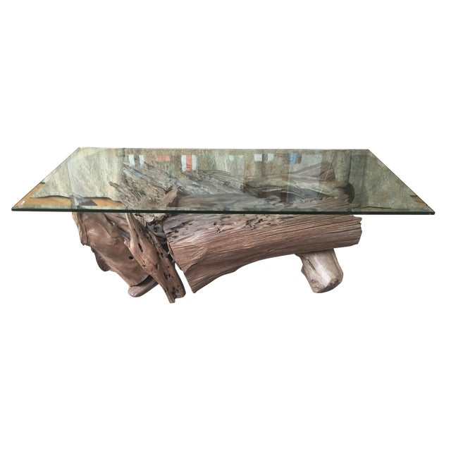 Driftwood Coffee Table - Image 1 of 4