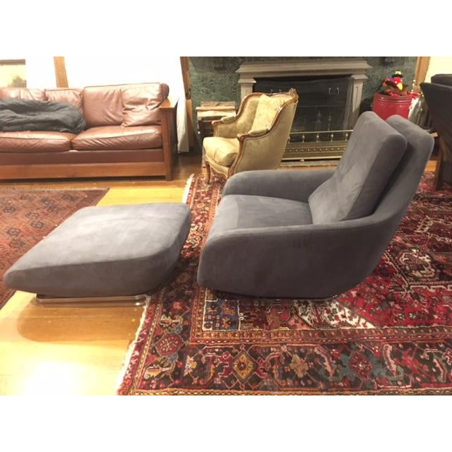 Ligne Roset Shaman Chair and Ottoman - A Pair - Image 3 of 5
