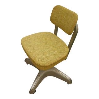 Industrial Steel & Aluminum Cole Office Chair