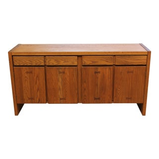 Conant Ball Oak Sideboard