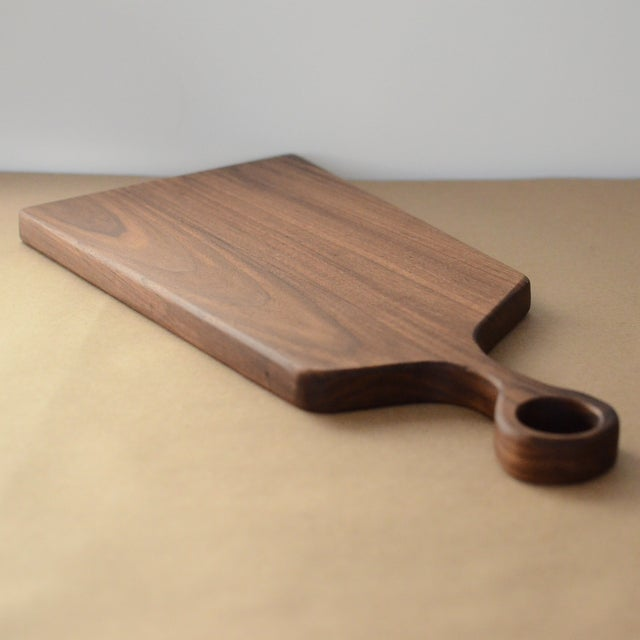 Large Handmade Walnut Asymmetrical Board - Image 4 of 6