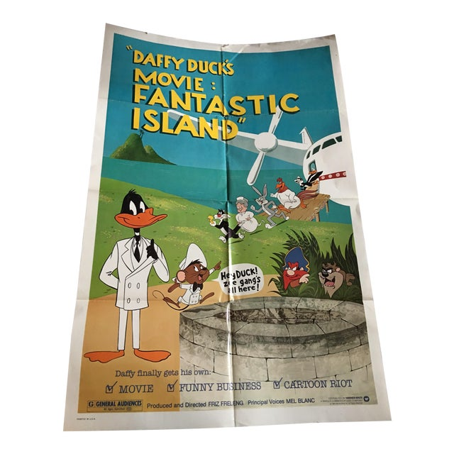 Daffy Duck's Fantastic Island 1983 Movie Poster - Image 1 of 9