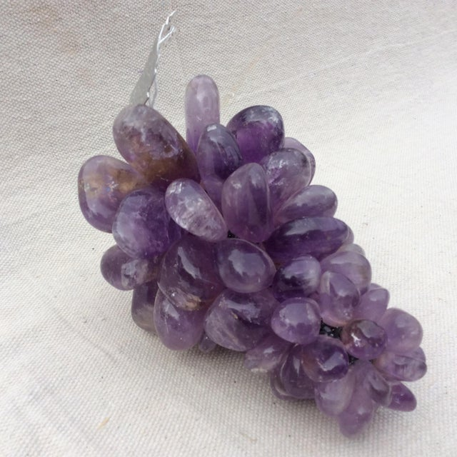 Image of Tumbled Amethyst Grape Cluster