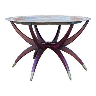 Mid-Century Spider Leg Table