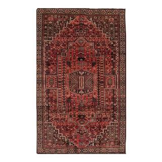 "Apadana - Vintage Persian Shiraz Rug, 5'2"" x 8'8"""