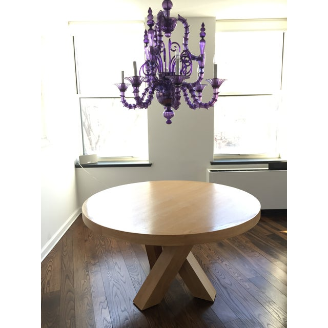 Knowlton brothers element dining table chairish for Table th width attribute