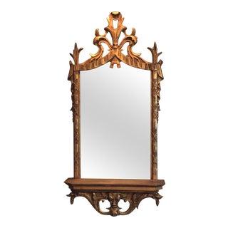 Vintage Gilt Florentine Carved Mirror