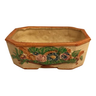 Petite Ceramic Japanese Jardiniere