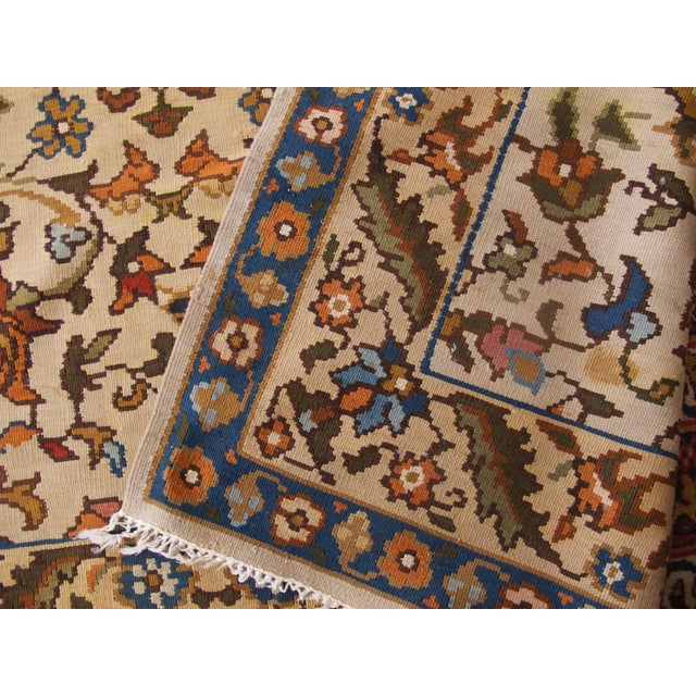 Bessarabian Room-Size Woven Kilim - Image 9 of 10