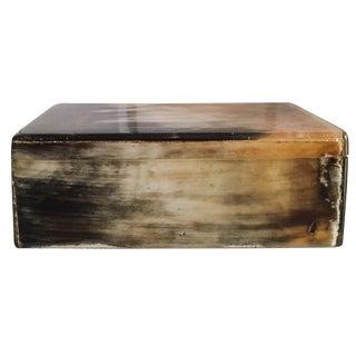 Cedar Horn Box
