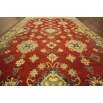 Image of Super Kazak Hand Knotted Rug Red - 9' x 12'