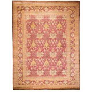 """Arts & Crafts Hand Knotted Area Rug - 9'1"""" X 12'0"""""""
