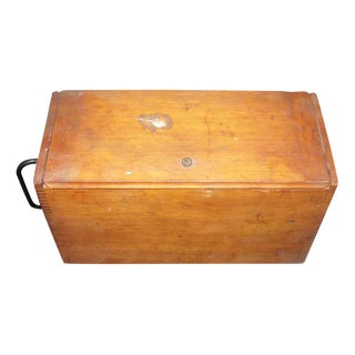 Antique Trunk or Industrial Box