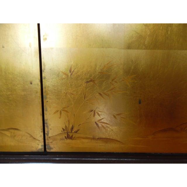 Renzo Rutili Chinoiserie Gold Cabinet - Image 8 of 10