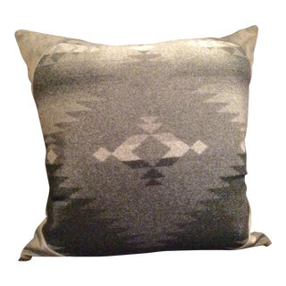 "Ralph Lauren ""Red Rocks"" Italian Wool Blanket Pillow"