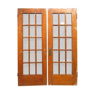 Fifteen Lite French Doors - A Pair