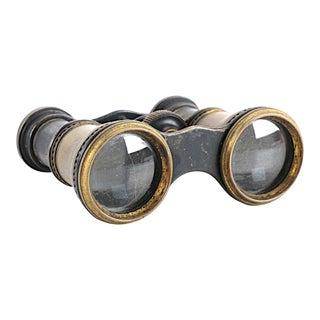 Antique Bronze Petite Opera Glasses Binoculars