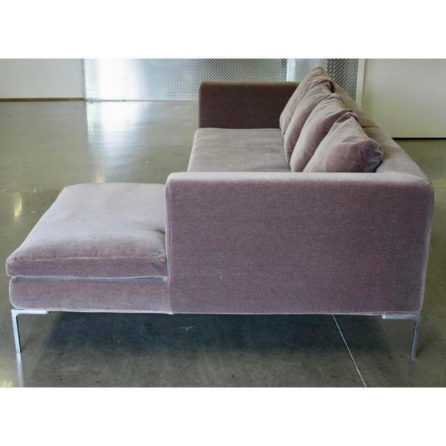 Charles Sofa by Antonio Citterio for B&b Italia in Mohair - Image 4 of 10