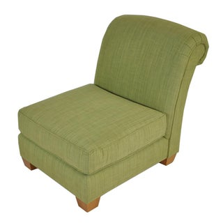 Kravet Green Transitional Madison Chair