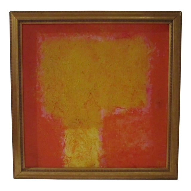 Abstract Painting Paris Signed Framed Acrylic - Image 1 of 11