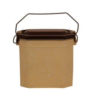 Antique French Enamel Lunch Pail