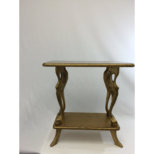 Italian Gold Side Table - Image 2 of 6