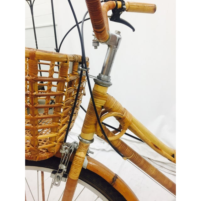 Vintage Bamboo Bicycle - Full Size - Image 11 of 11