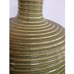 Image of Concentric Ringed Stoneware Table Lamp