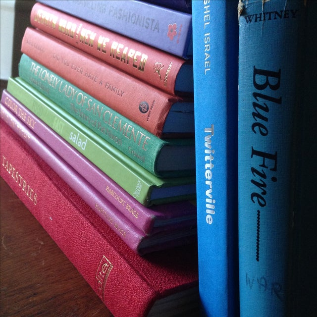 Brightly Colored Decorative Books - Set of 13 - Image 9 of 11