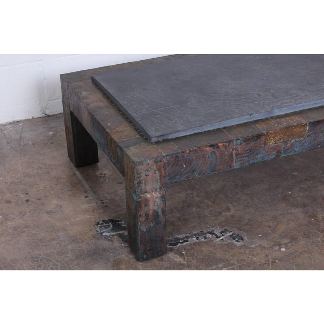 Large Patchwork Coffee Table by Paul Evans - Image 7 of 10