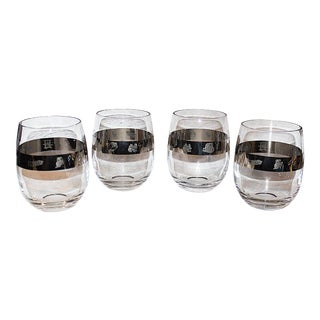 Industrial Banded Tumblers - Set of 4