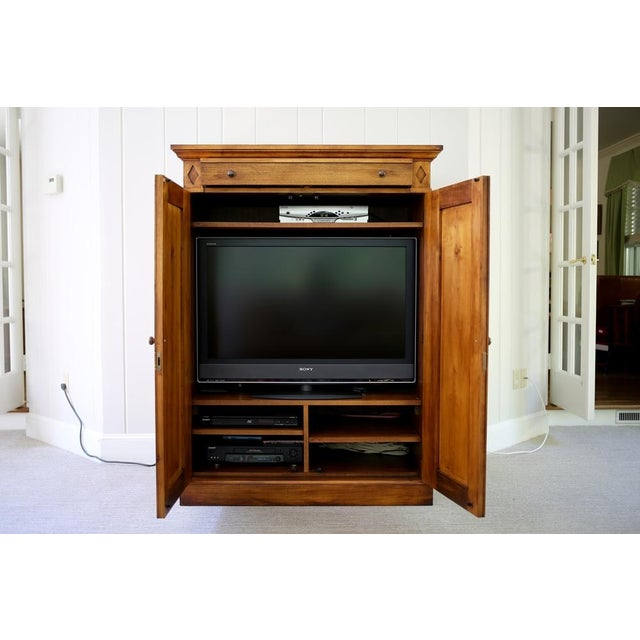 Romweber for Crate & Barrel Media Cabinet/Armoire | Chairish