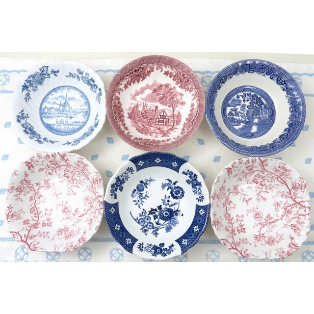 Mismatched Ironstone China Set, Service for 6 - Image 9 of 11