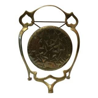 Vintage Brass Gong
