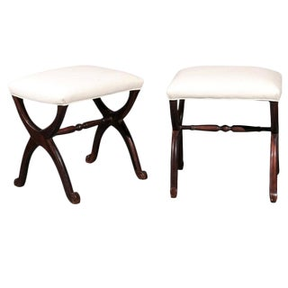 Pair of French Stools / Benches