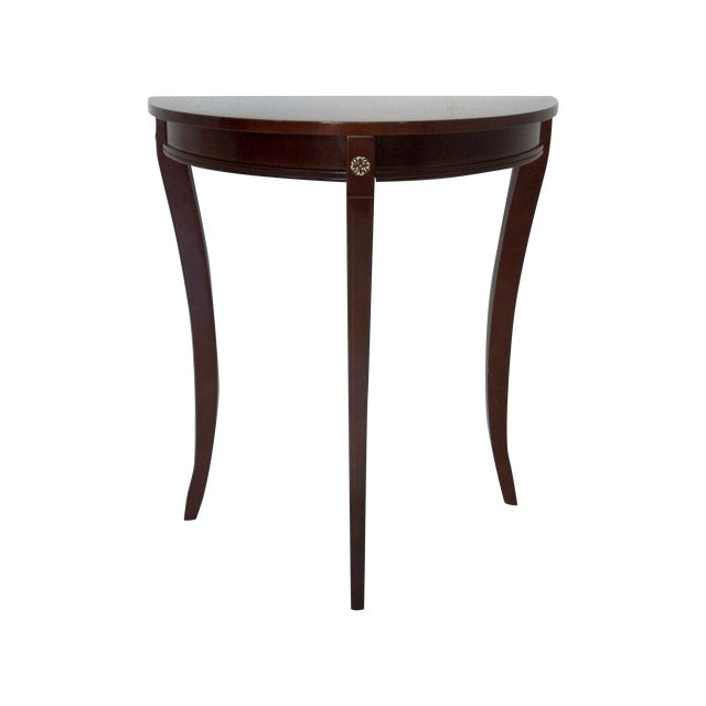 Bombay Company Demi Lune/Console Table - Image 1 of 6